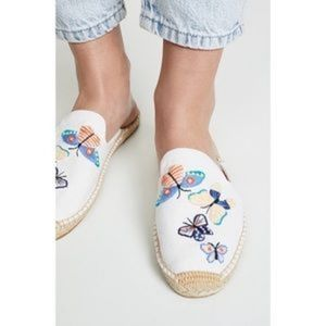 NWT ANTHROPOLOGIE  BUTTERFLY ESPADRILLE
